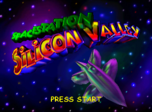 Space Station Silicon Valley title screen n64