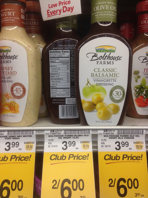 Classic Balsamic Vinaigrette Dressing, Bolthouse Farms - Safeway