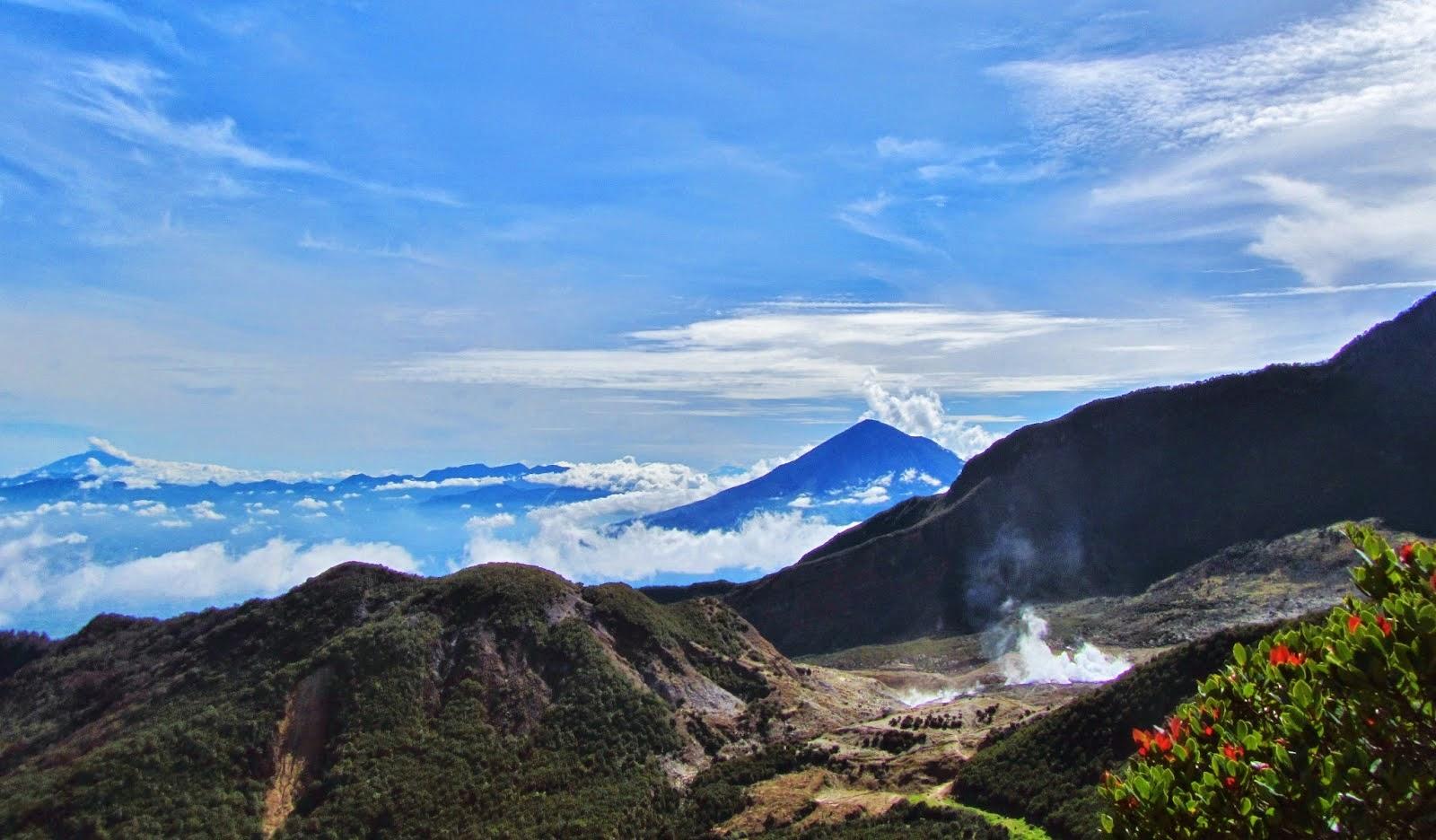 jalur pendakian gunung di jawa barat favorit pendaki
