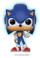 Pop! Games: Sonic GITD Toys 'R Us