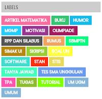 Cara Buat Label Berwarna di Blog