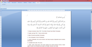 quran in word