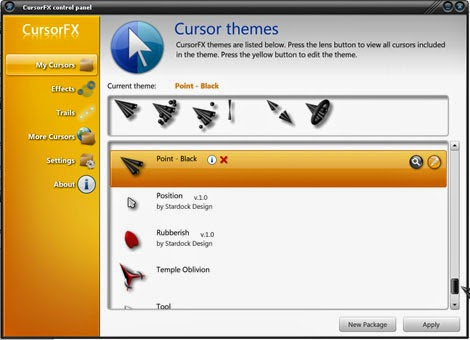 How To Install New Cursors To Cursor Fx For Windows 10