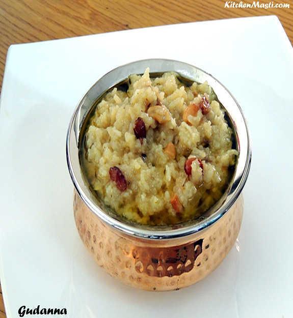 gudanna+jaggery+rice