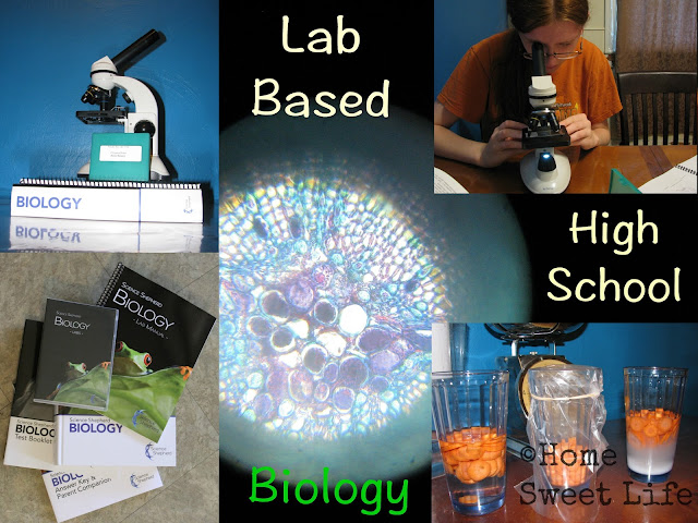 high school homeschool biology