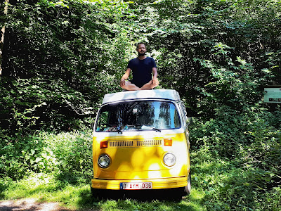 Vanlife T2 Westfalia Road trip calendar Spessart Germany
