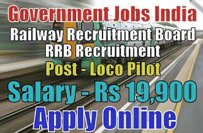 Railway Recruitment Board RRB Recruitment 2018