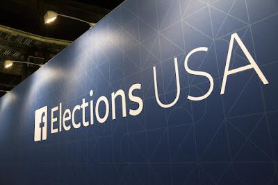 Facebook bloqueia contas antes do início da eleição legislativa nos EUA