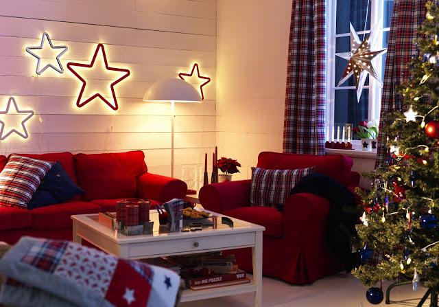 Cómo decorar tu casa en Navidad con Ikea
