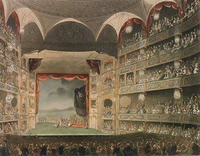 Drury Lane Theatre 1808