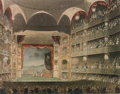 Drury Lane Theatre 1808