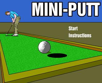 Minigolf Online Game