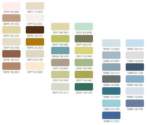 Color Tones Bedrooms
