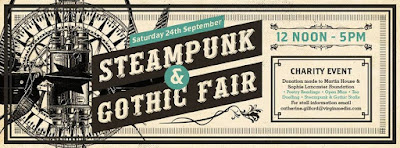 UK Steampunk event in Bradford, England: Steampunk & Gothic Fair charity event
