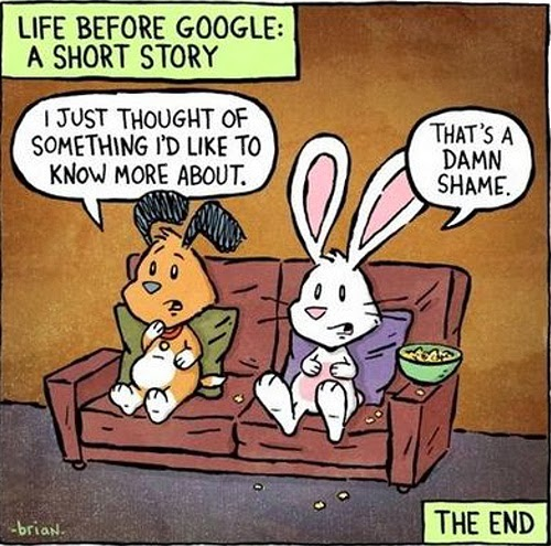 Life before Google: A short story