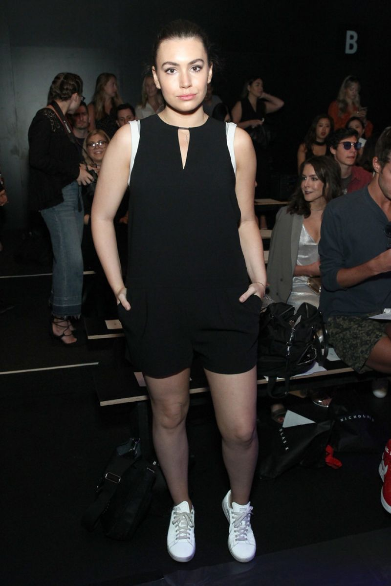 Photos of Sophie Simmons At Nicholas K Spring 2017 Fashion Show In New York