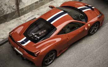 Wallpaper: Super Car Ferrari 458