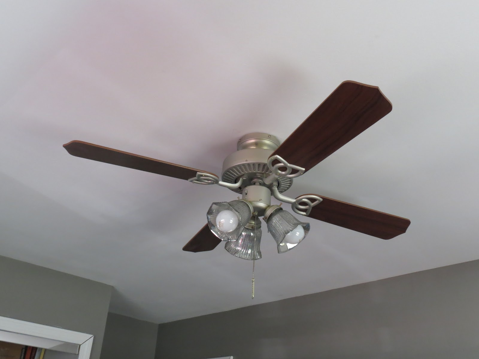 Walks Like Rain: Serious Upcycle: Ceiling Fan Update & DIY