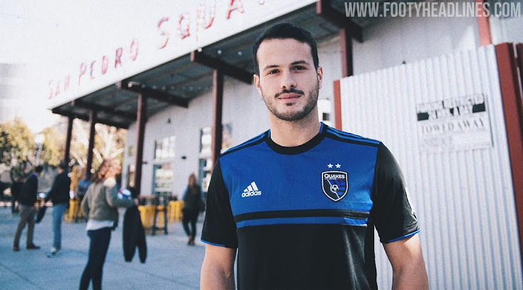 the best attitude 7a8b5 dc5a6 San Jose Earthquakes 2019 Home Kit Released - Footy Headlines