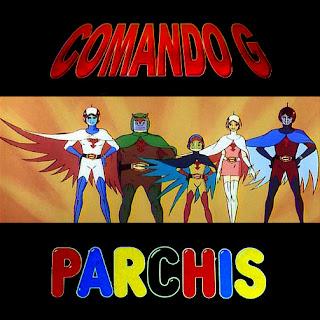 Ilustración: Comando G (texto y personajes) + Parchís