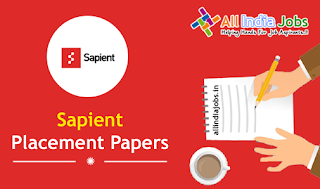Sapient Placement Papers