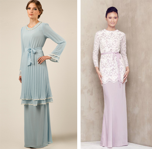 model baju kurung melayu modern