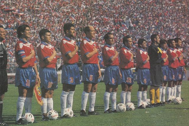 Formación de Chile ante Bolivia, Clasificatorias Francia 1998, 16 de noviembre de 1997