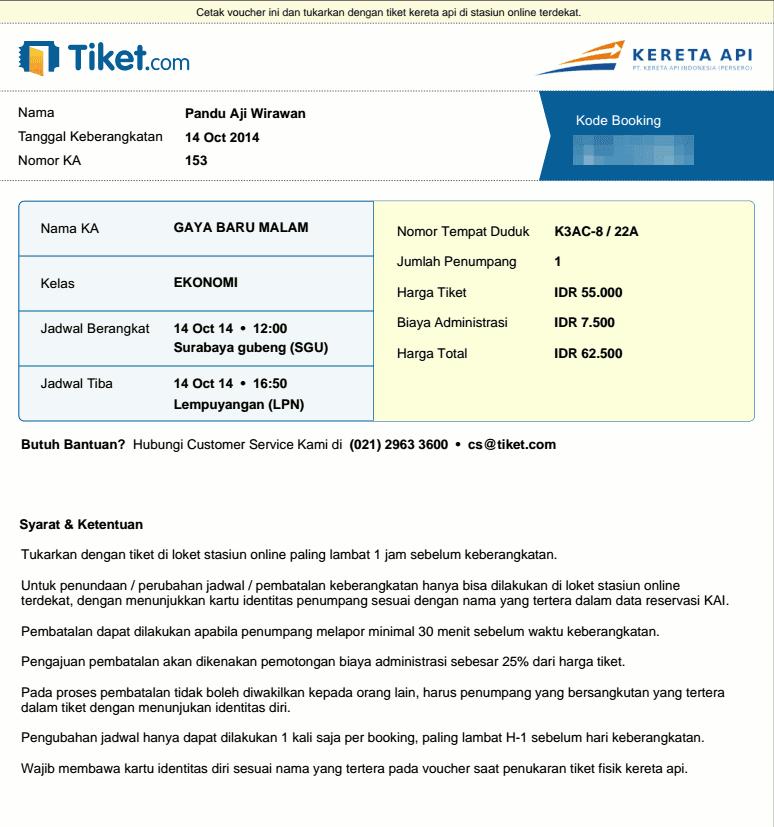 booking tiket kereta api online panduaji net rh panduaji net