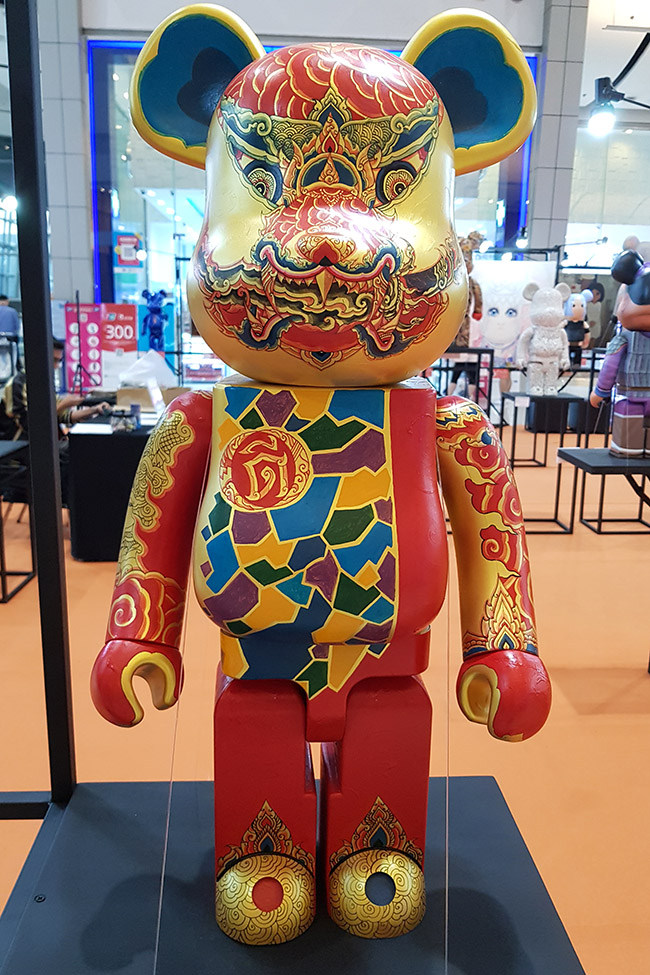 Suwatchai Tubtim สุวัฒน์ชัย ทับทิม - Color Me Bear 2018 designer Be@rBrick toy