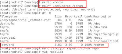 RedHat Enterprise Linux 7 üzerinde CentOS Repo ve Paketlerin Kurulumu