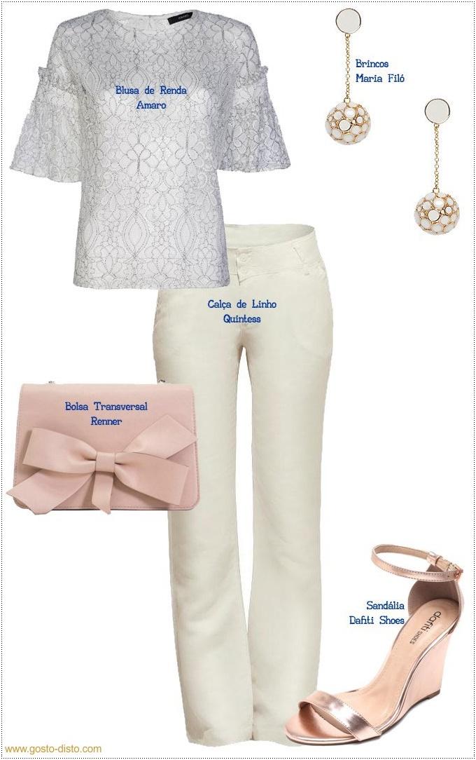 Maneiras de usar uma blusa de renda branca no réveillon em looks arrasadores