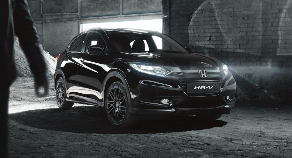 Honda Hrv V Crv >> Honda Introduces HR-V Black Edition In The UK From £25,000