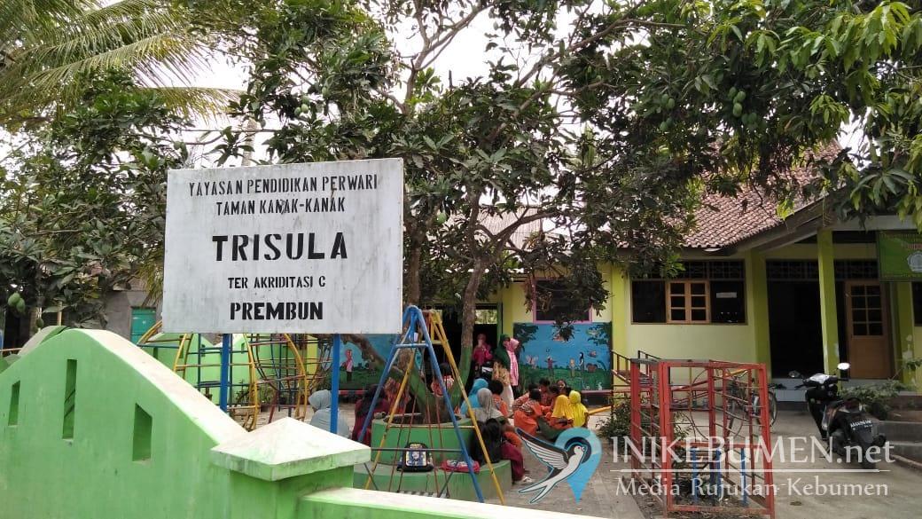 Jelang Pelantikan, Perwari Kebumen Kunjungi TK Trisula Prembun