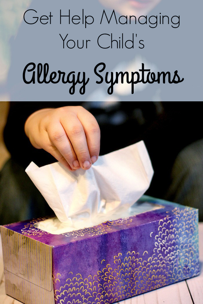 Get Help Managing Your Child's Allergy Symptoms