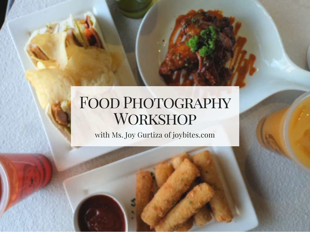 Food Photography Workshop with my Fujifilm XA2