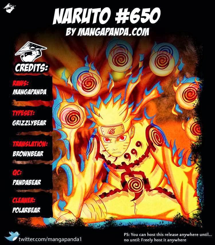 Naruto Ch. 650 I'll Sleep ( Eng )