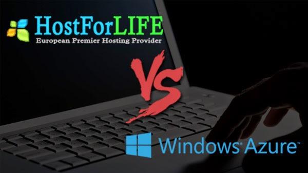 Comparison of Windows ASP.NET Hosting between HostForLIFE.eu Hosting Platform and Windows Azure Platform