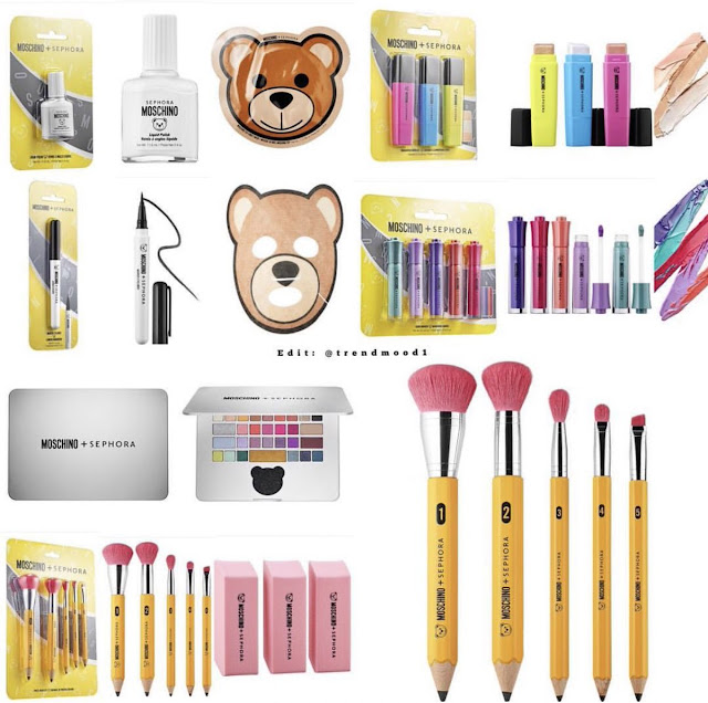 Sephora Collection  and  Moschino