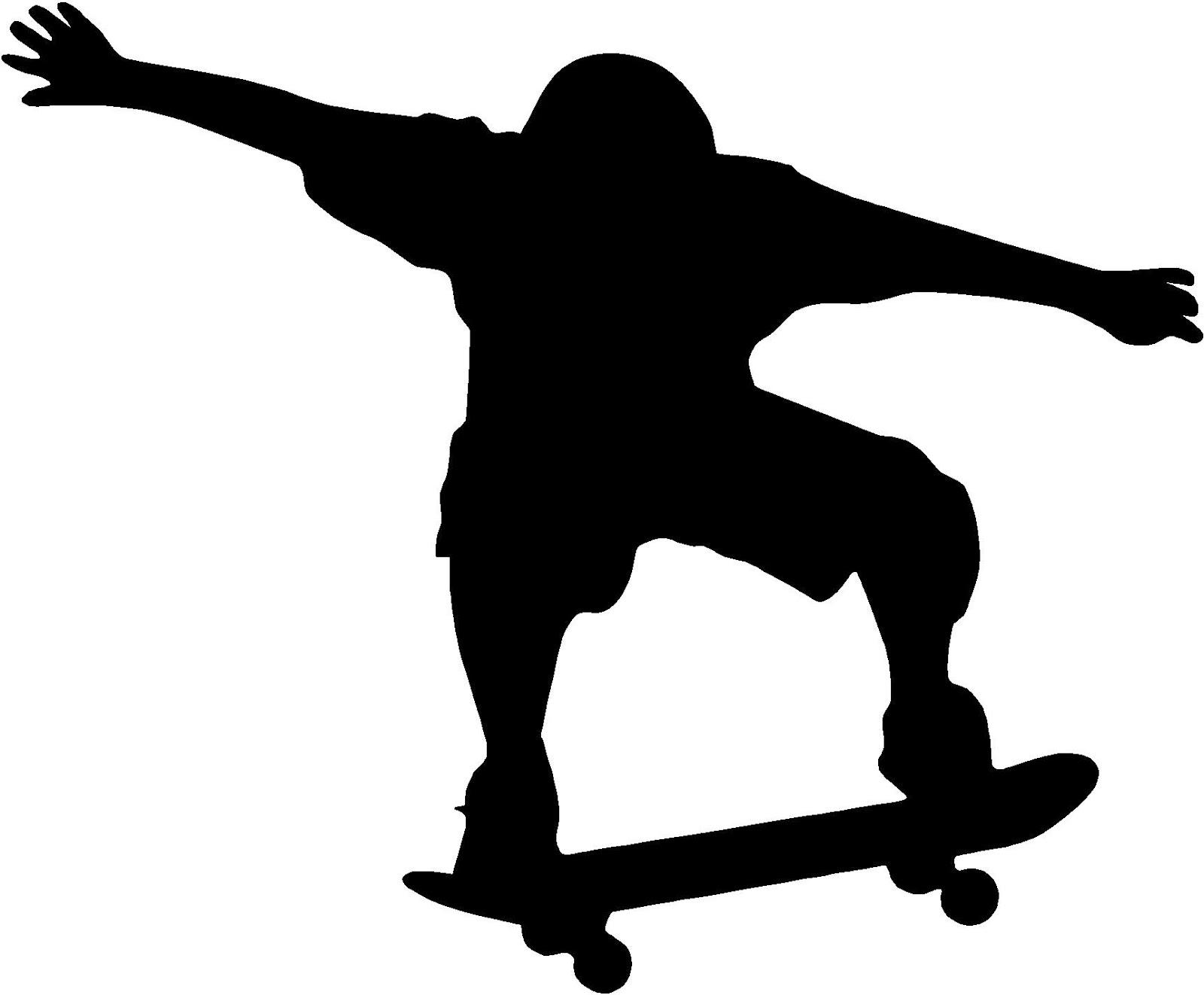 Desenho De Skate Para Imprimir: Desenhos Preto E Branco Para Colorir