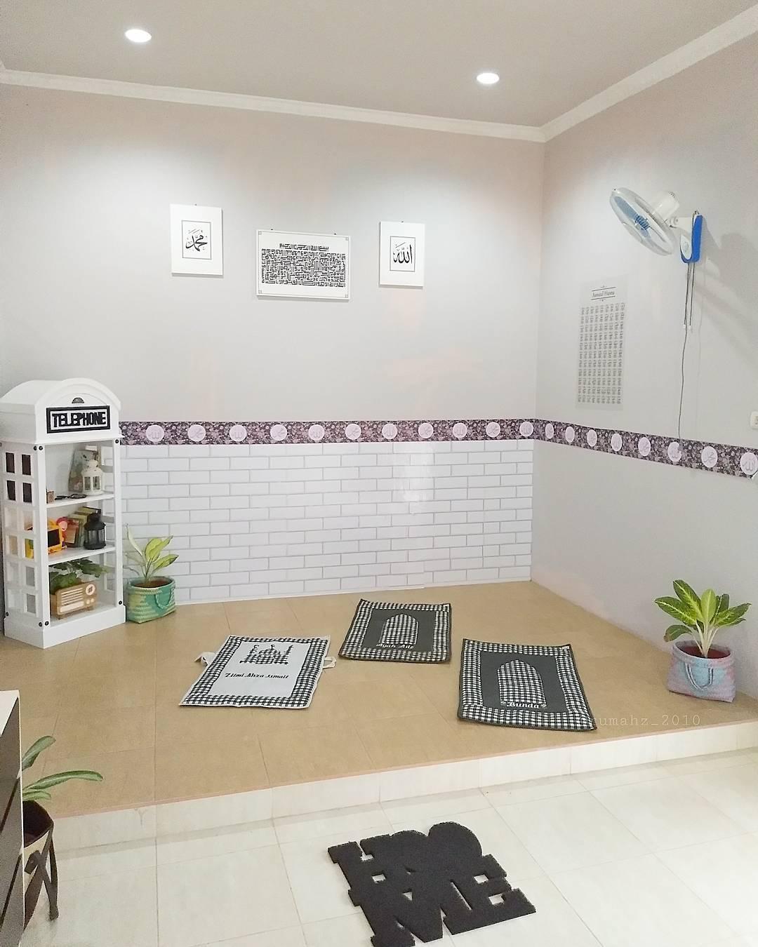 Desain Rumah Dengan Mushola Kecil Denah Rumah
