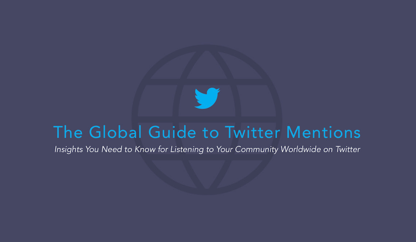 Insights You Need to Know for Listening to Your Community Worldwide on Twitter - #infographic - Time to rethink your Twitter marketing strategy