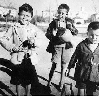 Greek Kalanda singers 1950s