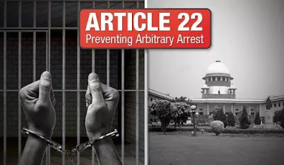 Article 22 of India Constitution Preventive Detention Laws