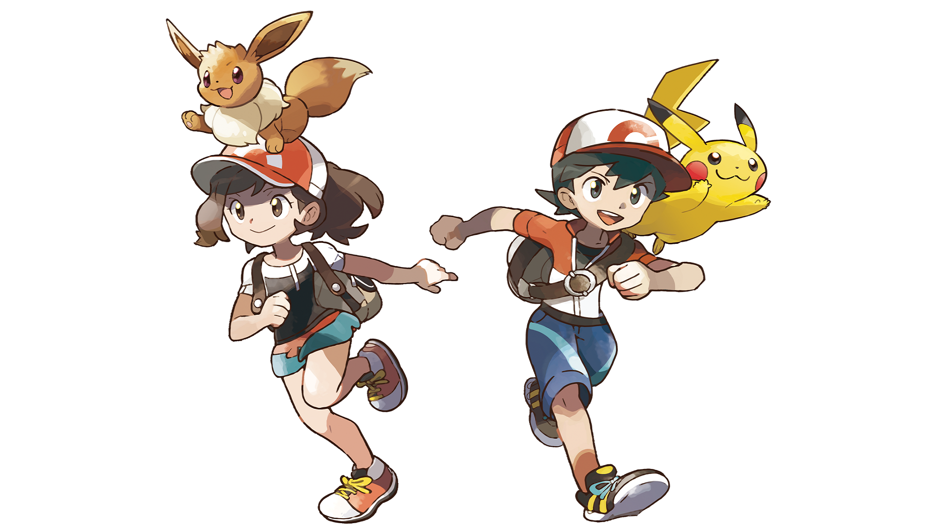 Pokemon Lets Go Pikachu And Eevee Wallpapers
