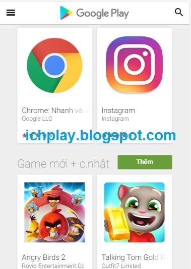 Cách Tải Ch PLay (Google PLay) Cho iPhone 4, 5, 6, 7, 8, iPad trên IOS c