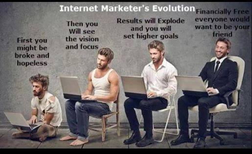 Internet Marketer Evolution