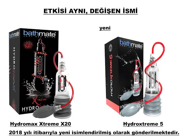 Bathmate Hydromax Xtreme X20 ismi Bathmate Hydroxtreme 5 oldu.