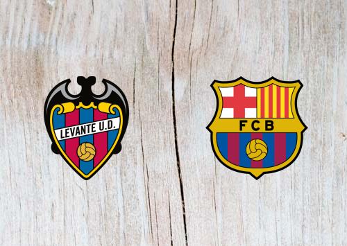 Levante vs Barcelona Full Match & Highlights 10 January 2019