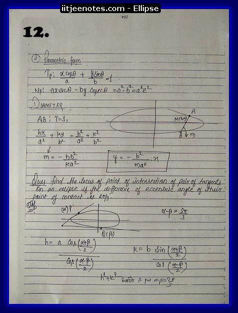 ellipse notes2