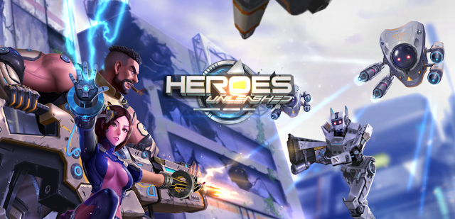 Game FPS android Terbaru Heroes Unleashed bergaya Ala Moba Analog